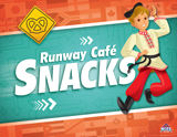 The Incredible Race VBS: Runway Café Snacks Rotation Sign