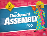 The Incredible Race VBS: Checkpoint Assembly Rotation Sign