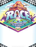 The Incredible Race VBS: Promotional Flier