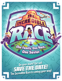 The Incredible Race VBS: Save the Date Postcard
