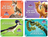 The Incredible Race VBS: Glad You Came Postcard