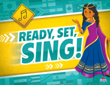 The Incredible Race VBS: Music Rotation Sign