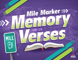 The Incredible Race VBS: Bible Gem Memory Verses Rotation Sign