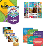The Incredible Race VBS: Toddler Resource Kit