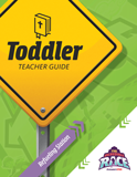 The Incredible Race VBS: Toddler Teacher Guide