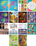The Incredible Race VBS: Junior and Primary Illustration Posters