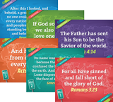 The Incredible Race VBS: Junior and Primary Memory Verse Posters