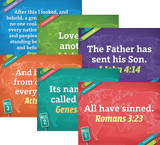 The Incredible Race VBS: Pre-Primary and Toddler Memory Verse Posters