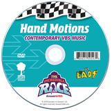 The Incredible Race VBS: Hand Motions DVD: Contemporary