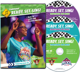 The Incredible Race VBS: Music Leader Set: Traditional