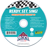 The Incredible Race VBS: Contemporary Student Music Audio CD 10 Pack