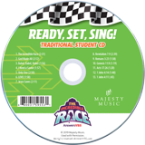The Incredible Race VBS: Traditional Student Music Audio CD 10 Pack: 10 Pack