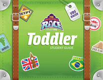 The Incredible Race VBS: Toddler Student Guide: ESV