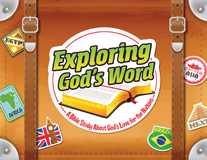 The Incredible Race VBS: Exploring God's Word Booklet