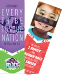 The Incredible Race VBS: Revelation 7:9 Bookmark