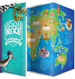 The Incredible Race VBS: Animal Pals Map: ESV