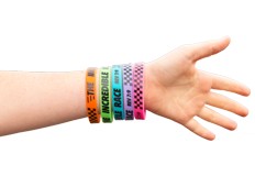 The Incredible Race VBS: Silicone Wristband