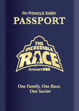 The Incredible Race VBS: Passport and Sticker Set: Pre-Primary and Toddler: ESV