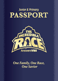 The Incredible Race VBS: Passport and Sticker Set: Junior and Primary: ESV