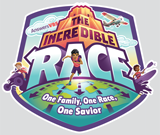 The Incredible Race VBS: Student Iron-On Logo