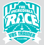 The Incredible Race VBS: Leader Iron-On Logo
