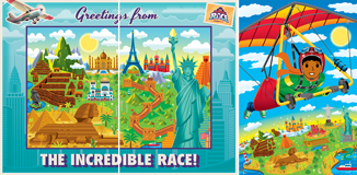 The Incredible Race VBS: Photo Op Scene Setter