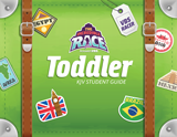 The Incredible Race VBS: Toddler Student Guide: KJV