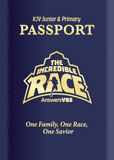 The Incredible Race VBS: Passport and Sticker Set: Junior and Primary: KJV