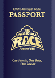 The Incredible Race VBS: Passport and Sticker Set: Pre-Primary and Toddler: KJV