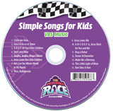 The Incredible Race VBS: Simple Songs for Kids: CD