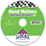 The Incredible Race VBS: Hand Motions DVD: Traditional