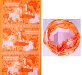 The Incredible Race VBS: Tubular Bandanas: Orange