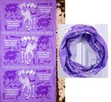 The Incredible Race VBS: Tubular Bandanas: Purple