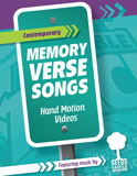 The Incredible Race VBS: Contemporary Memory Verse Song Videos: Hand Motion Videos