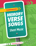 The Incredible Race VBS: Traditional Memory Verse Sheet Music: PDF