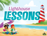 Mystery Island VBS: Bible Lesson Time Rotation Sign