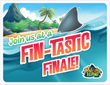 Mystery Island VBS: Closing Program Invitation Postcard