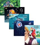 Mystery Island VBS: Animal Pals Posters