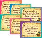 Mystery Island VBS: Junior and Primary Memory Verse Posters