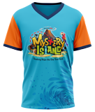 Mystery Island VBS: Athletic T-Shirt: Adult Large