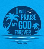 Mystery Island VBS: I Will Praise Logo Download