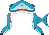 Mystery Island VBS: Shark Door Decoration