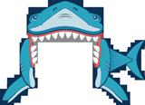 Mystery Island VBS: Shark Door Decoration