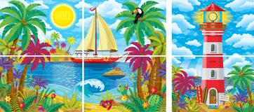 Mystery Island VBS: Classroom Scene Setter