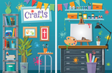 Mystery Island VBS: Craft Fabric Scene Setter