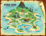 Mystery Island VBS: Treasure Map: KJV