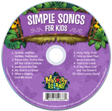 Mystery Island VBS: Simple Songs for Kids: CD