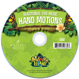 Mystery Island VBS: Student Hand Motions DVD: Traditional