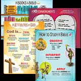 ABC Sunday School (Y1): Classroom Posters - Grades 1-6