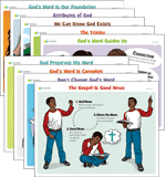 ABC: Grade 2 – Grade 5 Lesson Theme Posters Year 1 (KJV): Unit 1